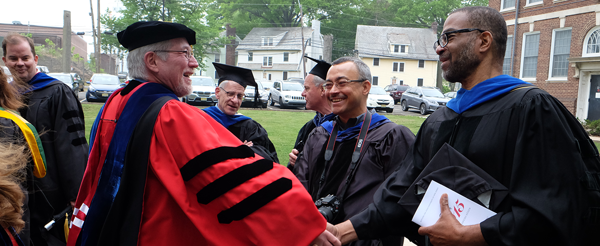 Photo: DAFRE Faculty at graduation